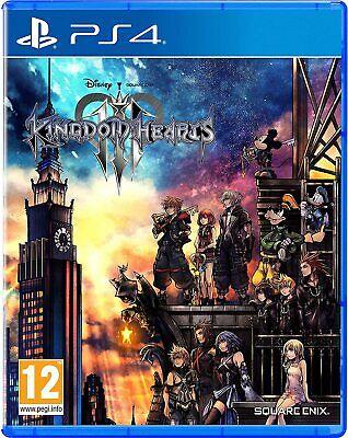 Kingdom Hearts III (3) PS4.