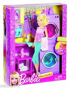 barbie glam laundry furniture set by mattel ebay