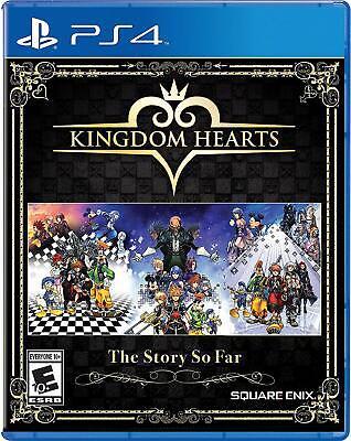KINGDOM HEARTS: THE STORY SO FAR   (PS4, 2018) (1860)          FREE SHIPPING USA