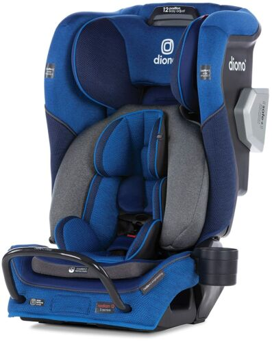 Diono Radian 3QXT All-In-One Booster Child Safety Car Seat Blue Sky NEW