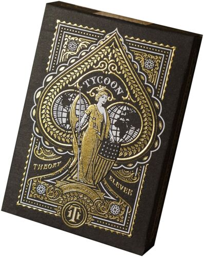 Tycoon BLACK Playing Cards by Theory 11 & Steve Cohen Millionaires' Magician