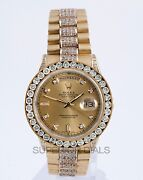 Rolex Day Date Diamond Bezel