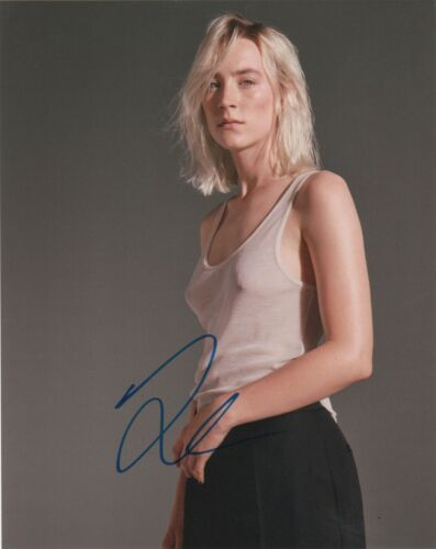 Saoirse Ronan Mary Queen of Scots Autographed Signed 8x10 Photo COA #MR530