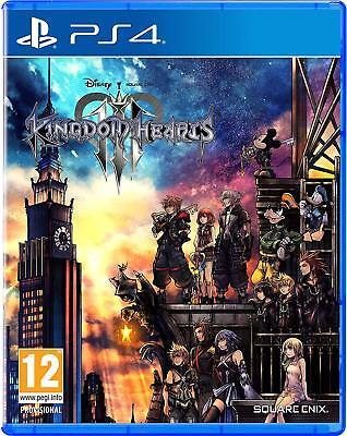 Kingdom Hearts III 3 (PS4) (NEU & OVP) (UNCUT) (Blitzversand)