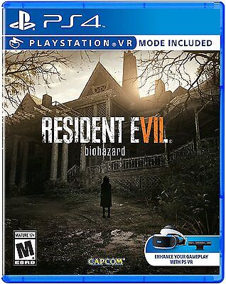 Resident Evil 7 PS VR PS4 Playstation 4 Pro Console New Sealed Ships Fast !!!