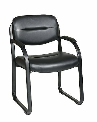 Waiting Room Chair Post Office Dental Business Doctor Men Woman Visitor Leather