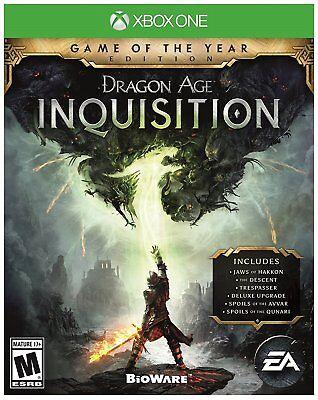 Dragon Age Inquisition - Game of the Year Edition [Xbox One XB1 Bonus Packs] NEW comprar usado  Enviando para Brazil