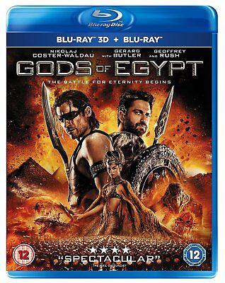 Gods Of Egypt 3D (Blu-Ray 3D)