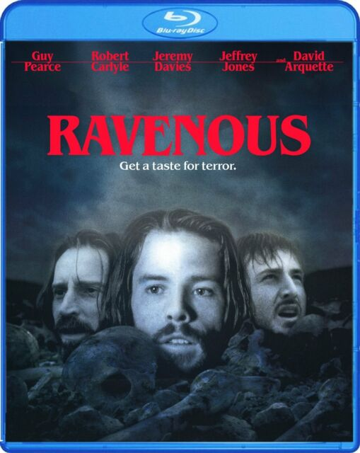 RAVENOUS  (1999 Guy Pearce) - Region A  - BLU RAY - Sealed