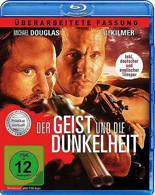 The Ghost and the Darkness (1996)- Blu Ray - New - Michael Douglas - UK