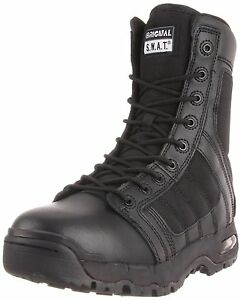 Original-Swat-Air-9-Side-Zip-Military-Combat-Boots-1232-All-Sizes-Widths