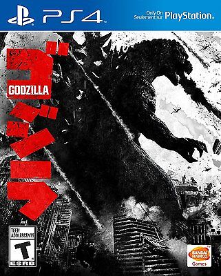 Godzilla [PlayStation 4 PS4 Exclusive Rampage Destruction Video Game] Brand NEW