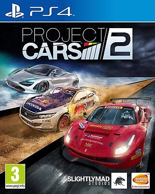 Project Cars 2 - PS4 Playstation 4 Rennspiel - NEU OVP