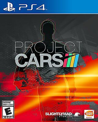 $26.99 - Project CARS - PlayStation 4 Brand New Ps4 Games Sony Factory Sealed