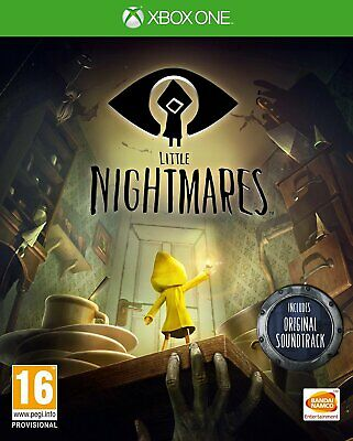 Little Nightmares Xbox One Brand New Factory Sealed with soundtrack