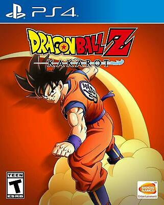 DRAGON BALL Z : Kakarot - PlayStation 4 PS4 Game 2020 Sealed New