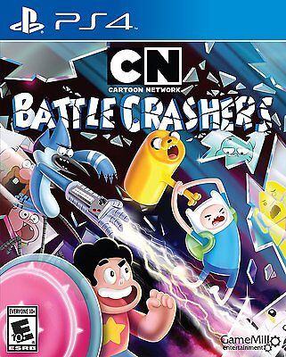 Cartoon Network Brawler   Playstation 4 Brand New Ps4 Games Sony Factory Sealed