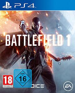 Battlefield 1 PS4 Spiel BF 1 100% Uncut Battlefield 1 Playstation 4 *NEU OVP*