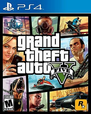 Grand Theft Auto V - PlayStation 4  - BRAND NEW! FACTORY SEALED!