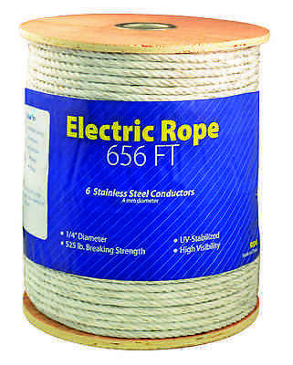 Economy Electric 14 Inch Thick Braid Rope Horse Fence 656ft Roll