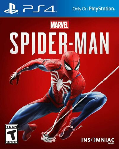 Spider-Man (Sony PlayStation 4, PS4,  2018) - VERY GOOD!!