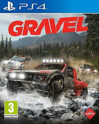 Gravel (PS4)  BRAND NEW AND SEALED - IN STOCK - QUICK DISPATCH - FREE UK POSTAGE