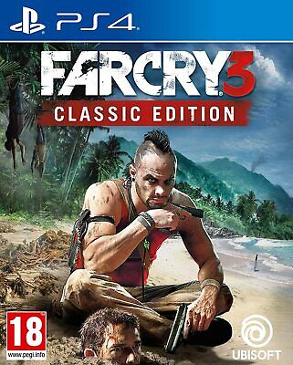Far Cry 3 Classic Edition PS4 Brand New Factory Sealed