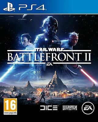Star Wars Battlefront II 2 (PS4) Sony PlayStation 4 Game NEW | SEALED