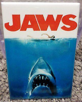 Jaws Silent picture Poster 2 x 3 Refrigerator Locker MAGNET Scheider Gary Hamilton