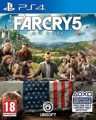 Far Cry 5 PS4 Brand New Factory Sealed