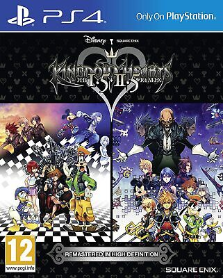 Kingdom Hearts 1.5 HD and 2.5 Remix PS4 Brand New Factory Sealed PlayStation 4