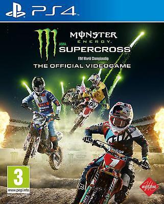 PS4 Spiel Monster Energy Supercross - The official Videogame NEUWARE Monster Super Video