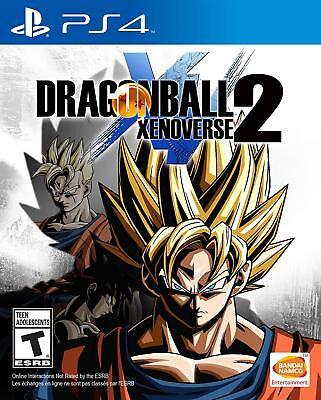 PLAYSTATION 4 DRAGONBALL XENOVERSE 2  BRAND NEW VIDEO GAME