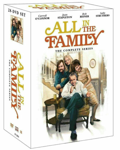ALL IN THE FAMILY The Complete DVD Series Seasons 1-9 - NEW