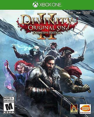 Divinity: Original Sin 2 Definitive Edition - Xbox One - NEW FREE US SHIPPING