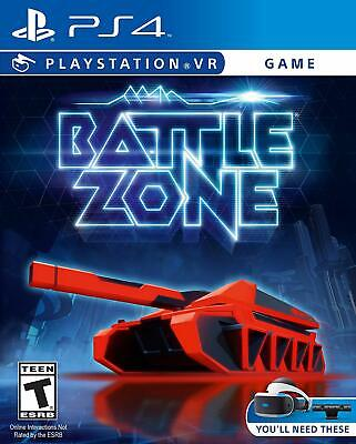 BattleZone VR PS4 PlayStation 4 Brand New Factory Sealed