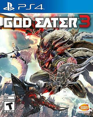 God Eater 3 PS4 Brand New factory Sealed PlayStation 4
