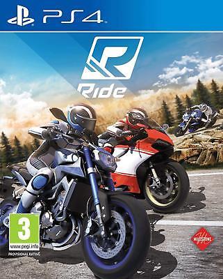 PS4 Spiel Ride 1 Motorrad Rennen für Sony Playstation 4 NEUWARE