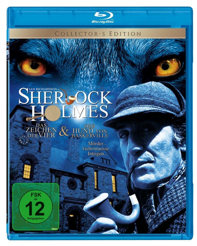 Sherlock Holmes: Der Hund von Baskerville & Im Zeichen der Vier  Blu-ray/NEU/OVP