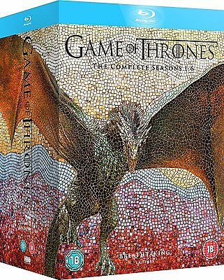 Game Of Thrones Seasons 1 6 Box Set Blu Ray Dented Box Free Shipping