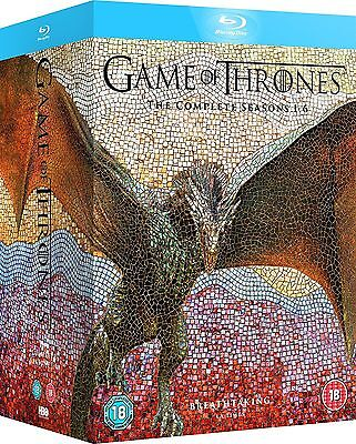 Game of Thrones Seasons 1-6 Box Set Blu-Ray BRAND NEW Free Shipping