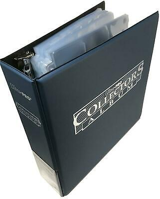 Ultra Pro Trading Card Ring Album/Binder/Folder & A4 9 Pocket Pages Holds 1800