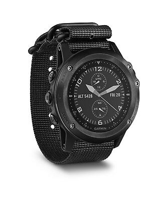 Garmin Tactix Bravo Multi Sport Tactical Gps Watch 010 01338 0A  Nylon Strap