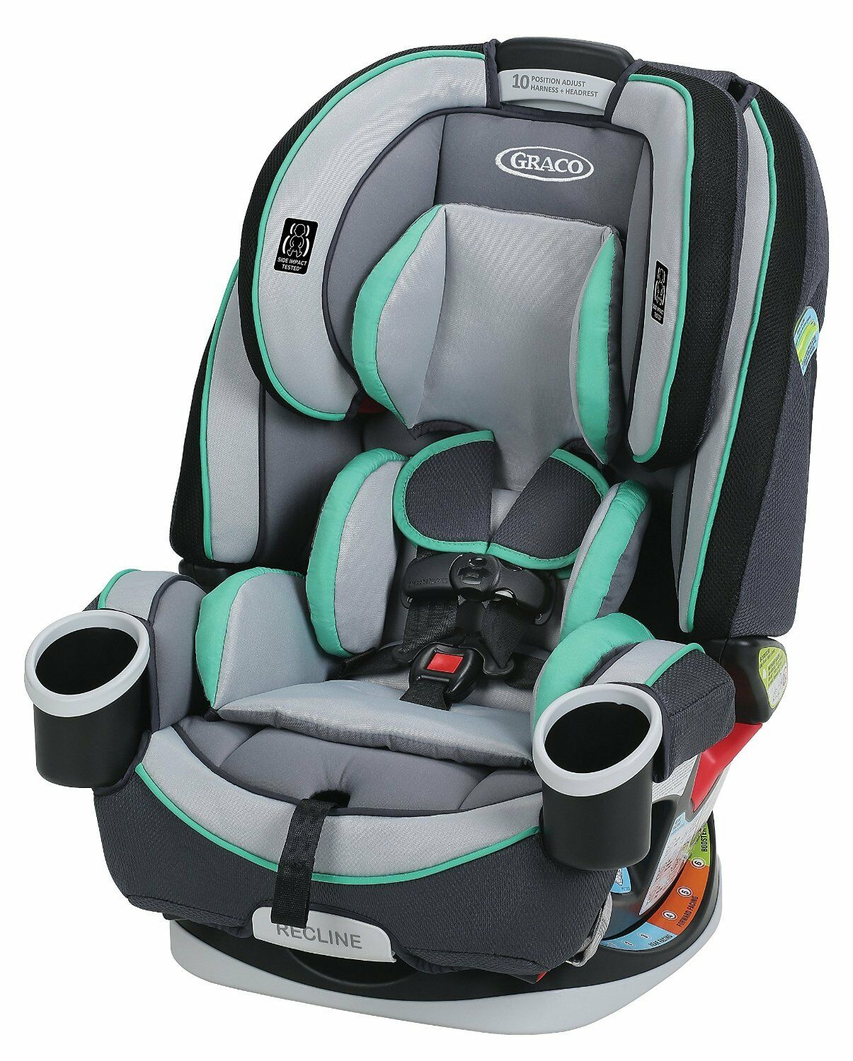 Купить Graco 4Ever - Graco Baby 4Ever All-in-1 Convertible Car Seat Infant Child Booster Basin NEW
