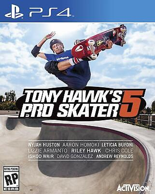 Tony Hawk's Pro Skater 5 - Sony PS4 - New & Selaed