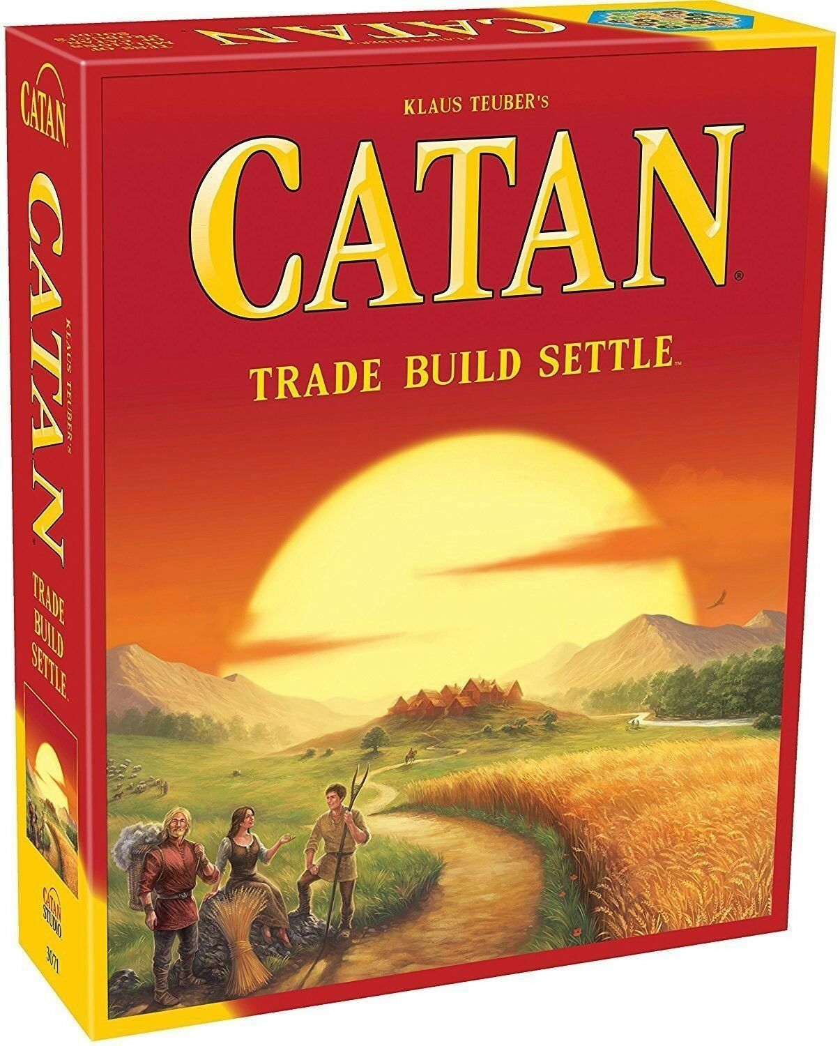 Купить CATAN - Settlers of Catan 5th edition Core Set Family Board Game - Free shipping