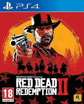 Red Dead Redemption 2 PS4 (Sony PlayStation 4, 2018) Brand New - Region Free