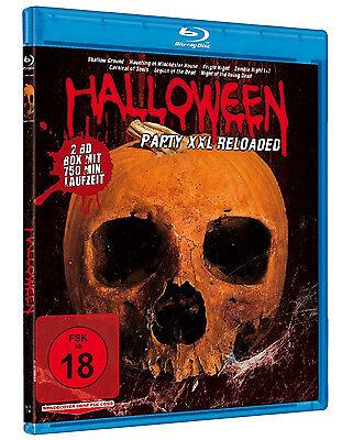 8 HALLOWEEN PARTY XXL Living Dead ZOMBIE NIGHT Vampire Hunter FRIGHT BLU-RAY Box ()