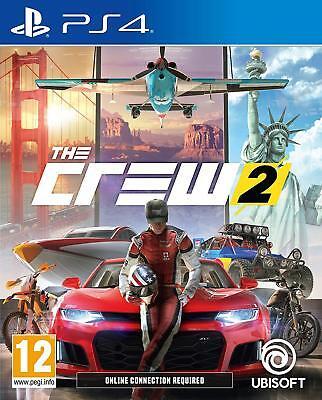 The Crew 2 - PS4 Playstation 4 Rennspiel - NEU&OVP