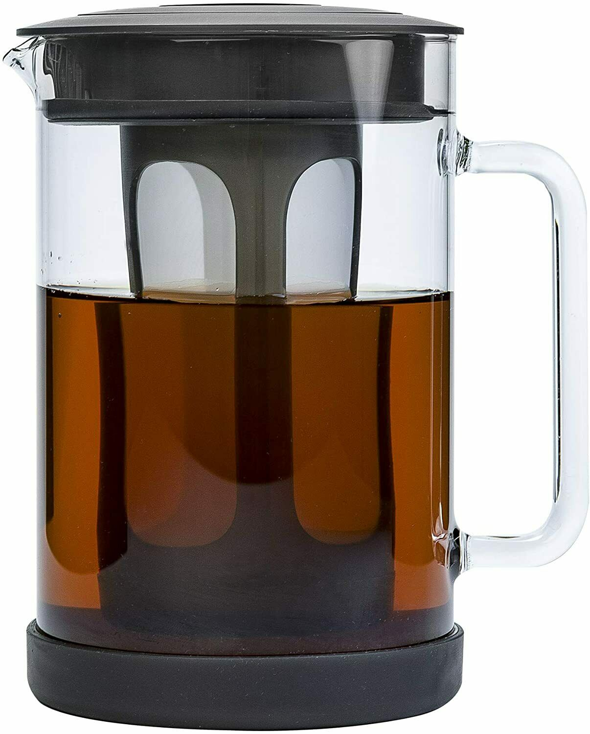 Cold Brew Iced Coffee Maker Durable Glass Pitcher Airtight L